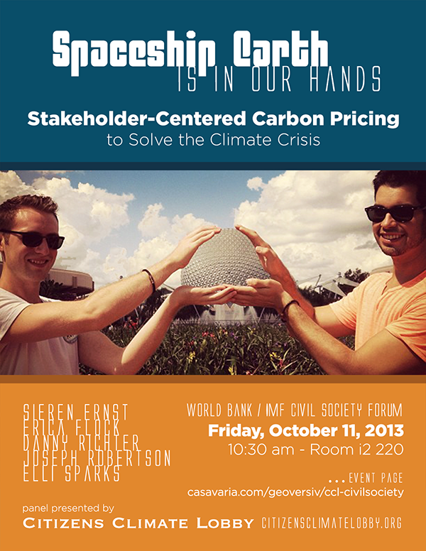 Stakeholder-Centered Carbon Pricing - CCL World Bank Panel